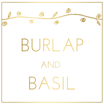Burlap and Basil