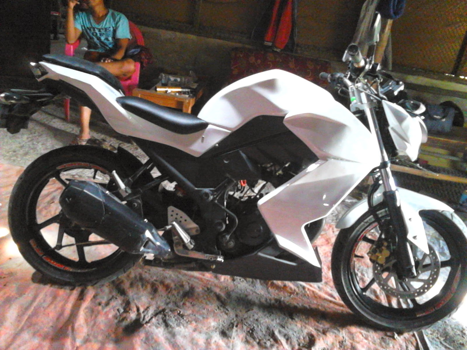 Top modifikasi byson ala z250