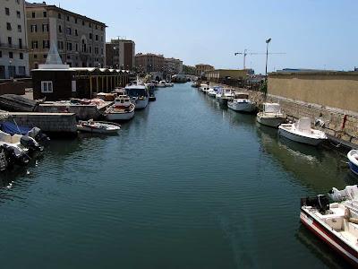 Canale dei Francesi, Frenchmen's Canal, Livorno