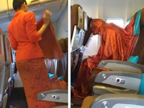 Foto Pramugari Garuda Indonesia Shalat Di Pesawat Ini Populer Di Malaysia