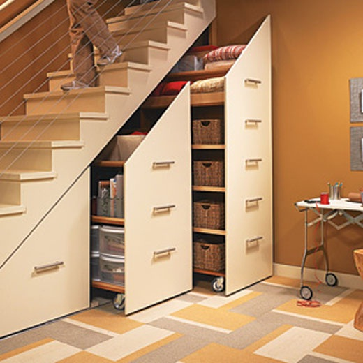 30 ideas de muebles bajo las escaleras for Ideas de escaleras