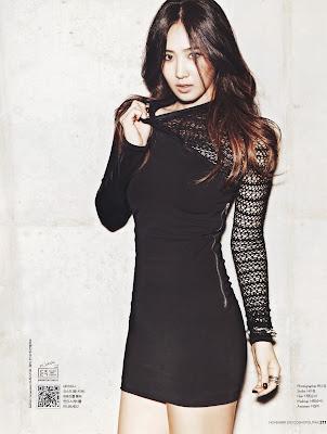 snsd yuri Cosmopolitan November 2013