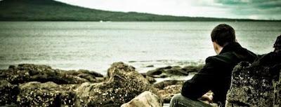 Sad-Man-Gazing-at-the-Sea-Consciousness & Life !!!