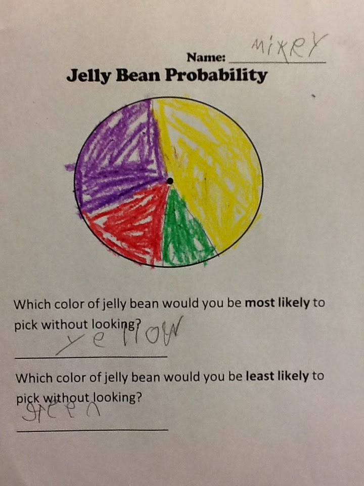 Mrs. T\'s First Grade Class: Jelly Bean Probability