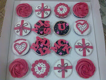 Cupcakes mengikut tema tempahan