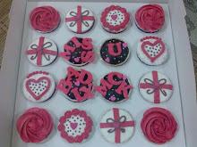 Cupcakes mengikut tema tempahan
