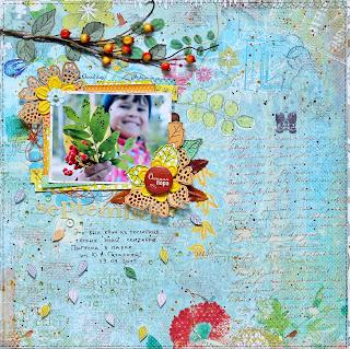 листья, осень, ветотка рябины, гроздь рябины