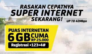 Daftar Harga Paket Internet IM3 dan Mentari Terbaru Super Internet