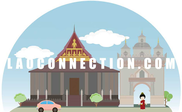Vientiane in a Cartoon Format