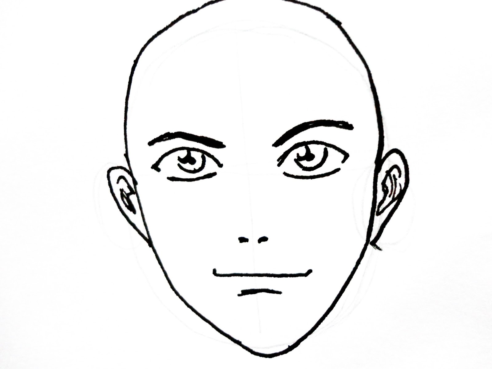 Line Drawing Of Cartoon Face : Cartoon party drawing face