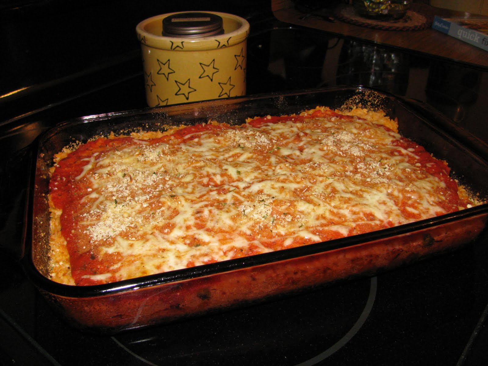 Dinner with the Robinsons...: Sicilian Rice Ball Casserole!