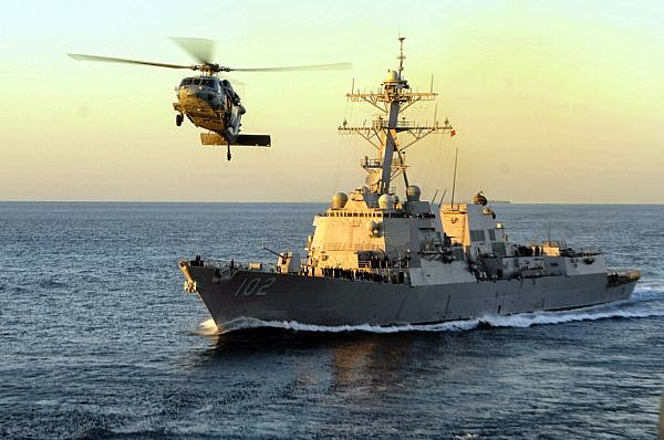 Amerika Serikat kirim USS Sampson cari AirAsia QZ8501