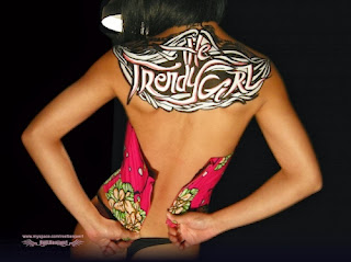 Body Painting Graffiti