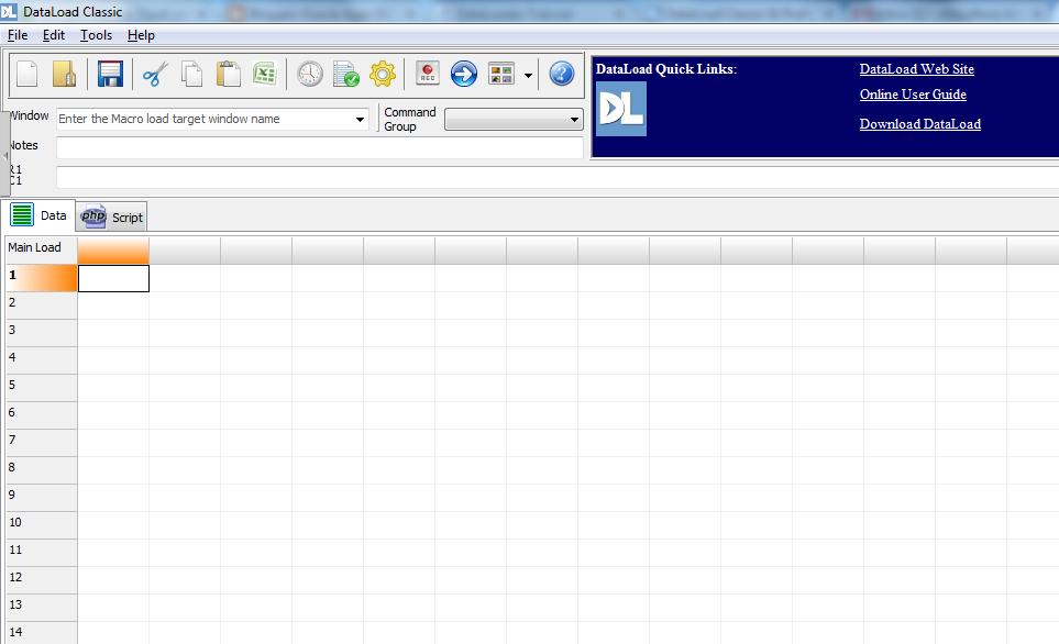 download data loader for oracle apps r12
