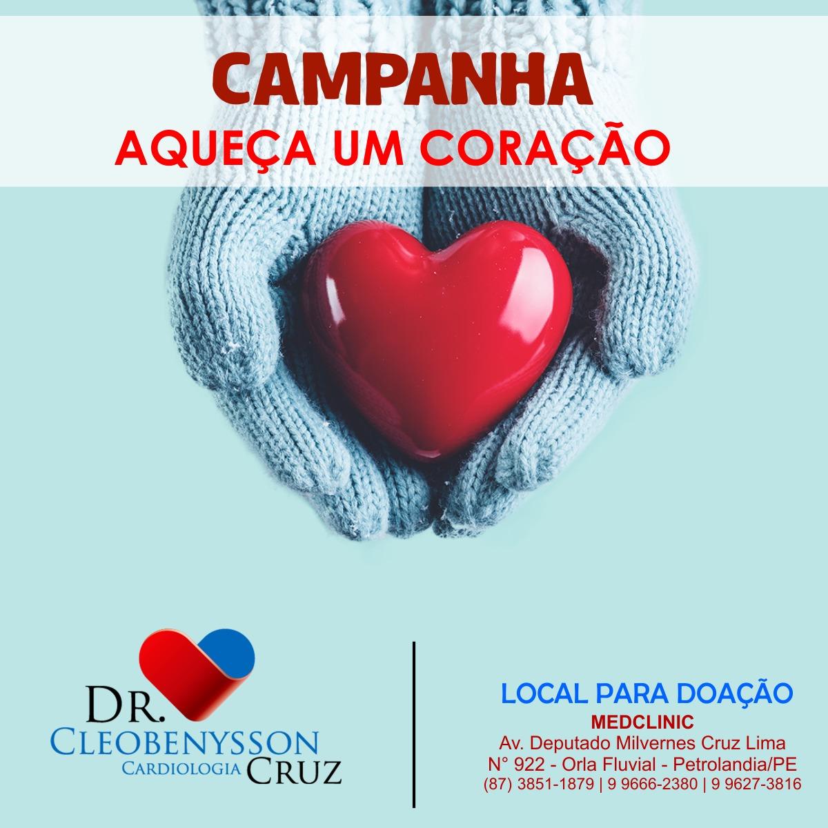 Campanha Aqueça um Coração