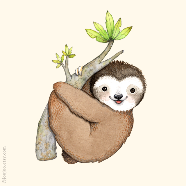 joojoo: U comme Unau . S is for Sloth