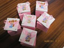 caixinhas de lembranças menina