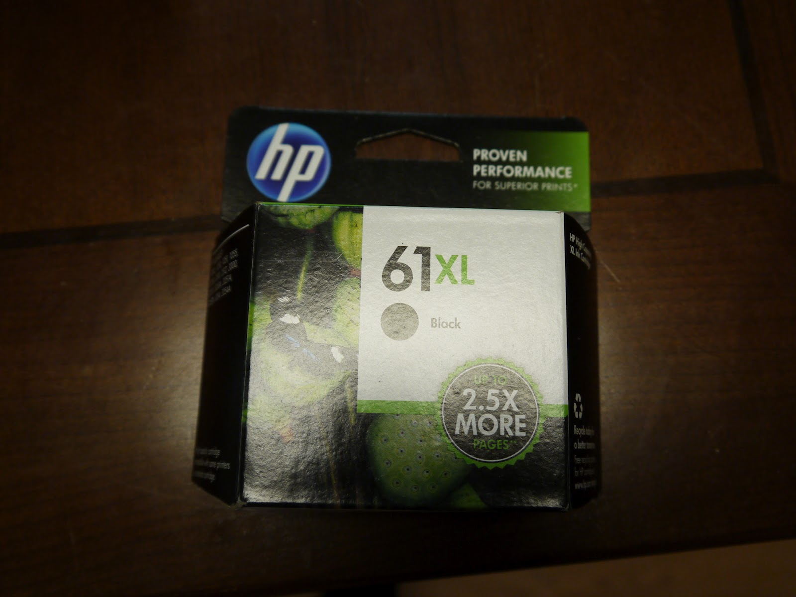 At the Fence HP XL Ink Cartridges and Walmart