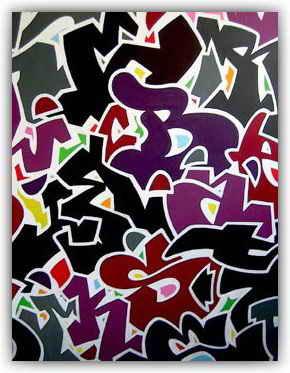 Graffiti mural2012 painting letter for graffiti alphabet canvas painting letter for graffiti alphabet canvas altavistaventures Gallery