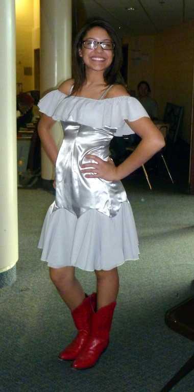 footloose 2011 ariel prom dress