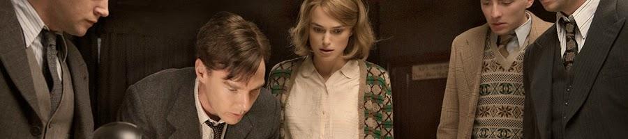 Bennedict Cumberbatch dan Keira Knightley dalam film The Imitation Game