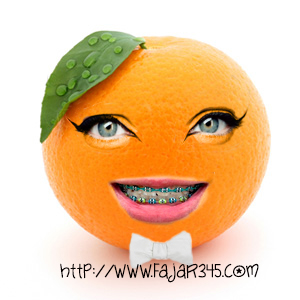 Cara memberikan wajah pada buah dengan Photoshop
