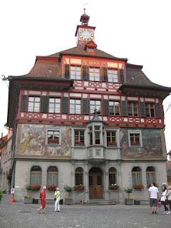 Town Hall, Stein am Rhein, Switzerland.