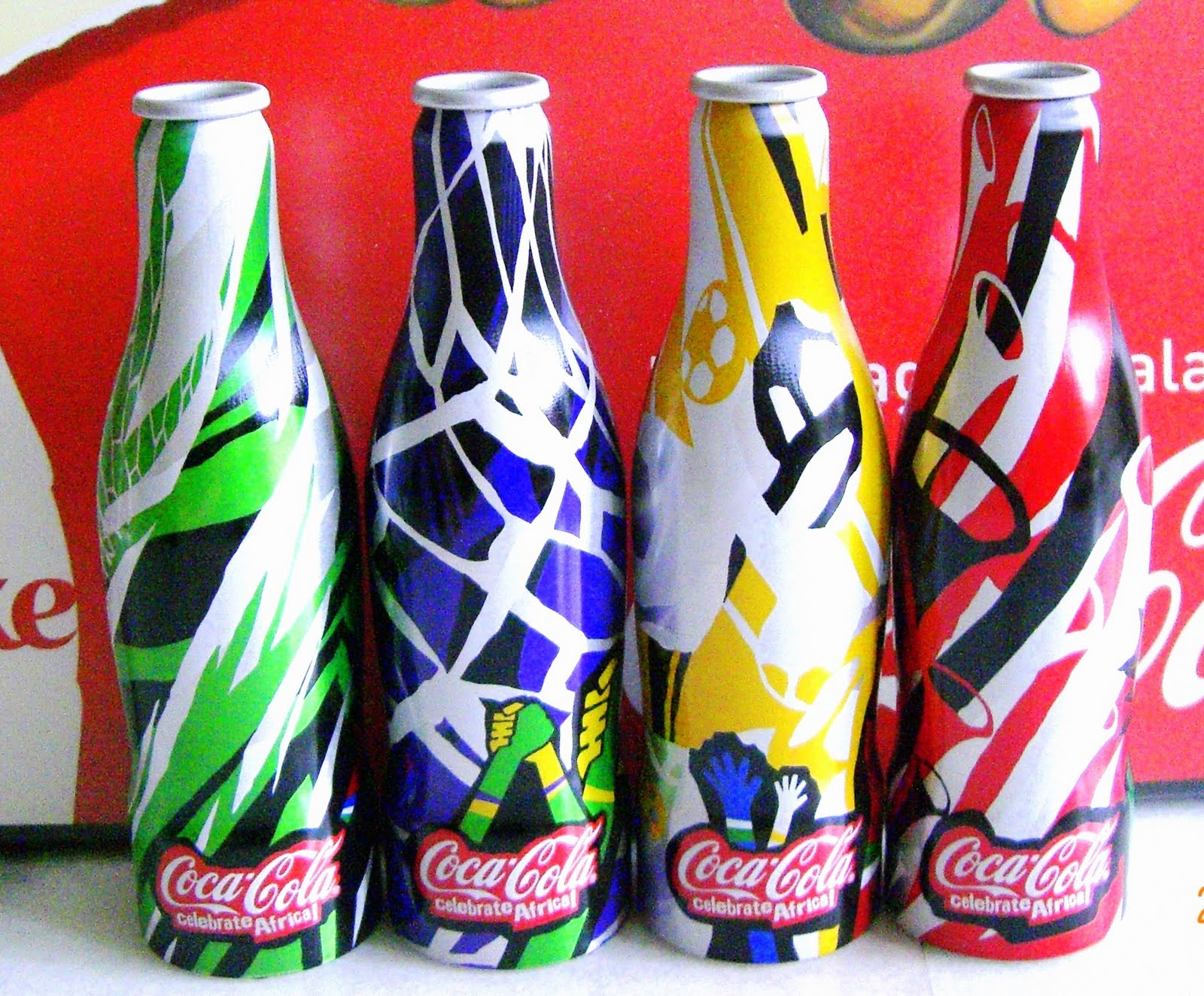 aluminum bottle collector club coca cola fifa world cup aluminum bottles usa 2010. Black Bedroom Furniture Sets. Home Design Ideas
