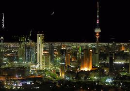 night of kuwait city