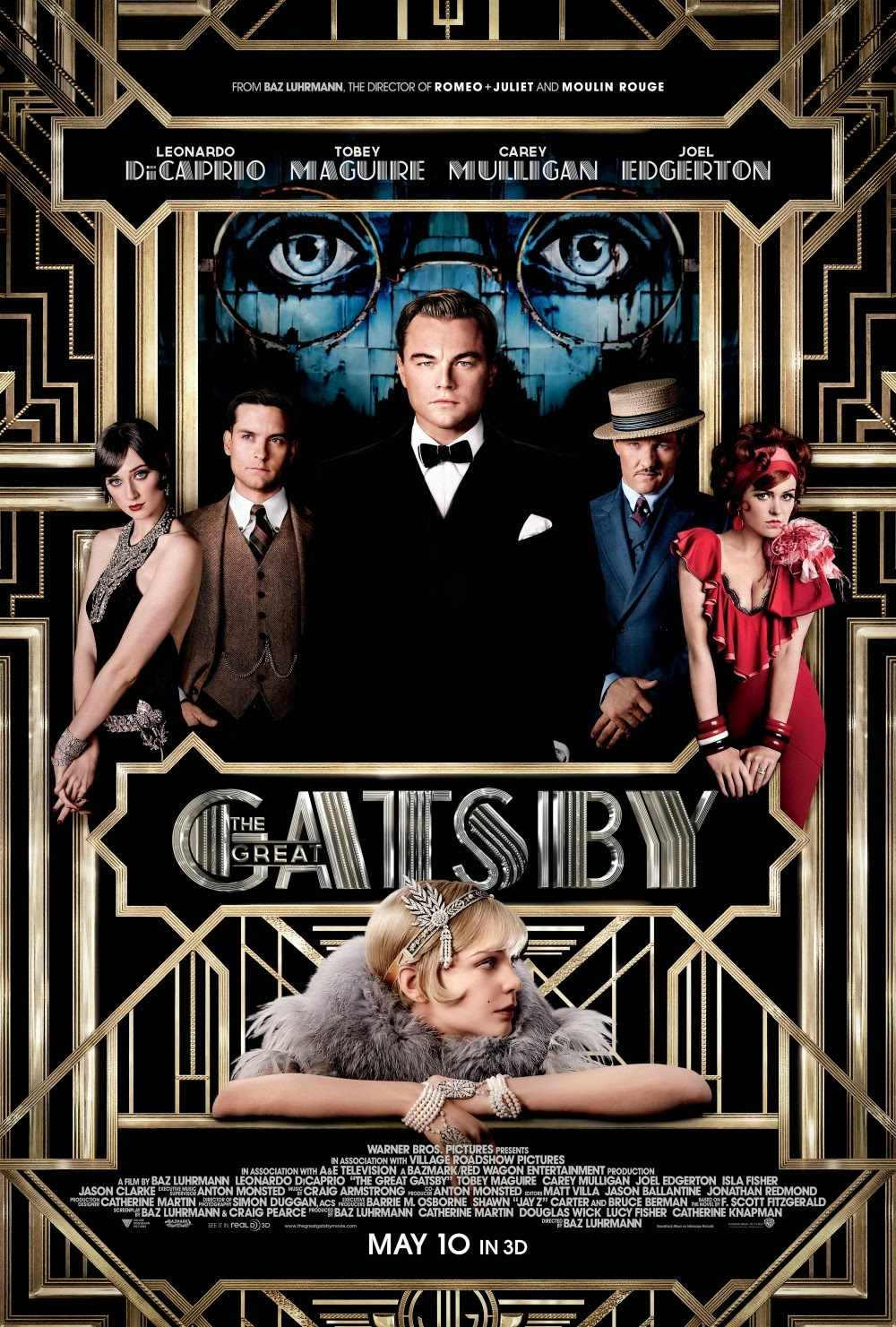 The Great Gatsby (2013) Movie Review - YouTube