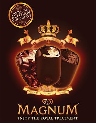 new in the market, magnum, ice cream, belgian chocolate