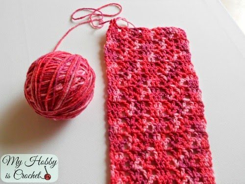 My Hobby Is Crochet Lacy Crochet Scarf For Springfall Free