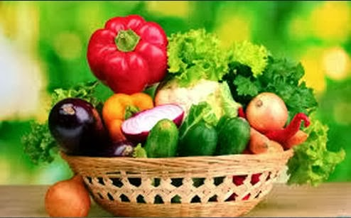 Red And Green Vegetables