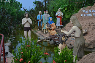 baptism of Christ at Garin farm