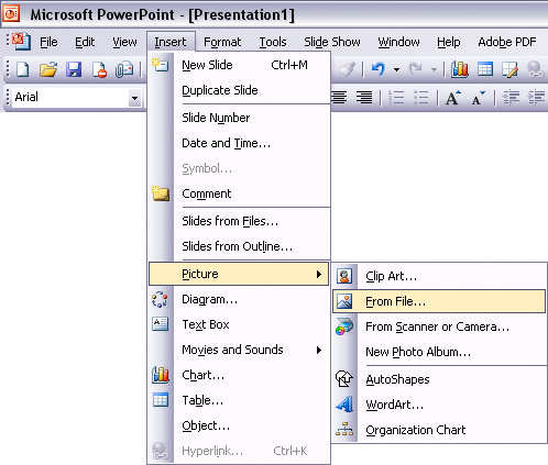 The POWER of MS Powerpoint