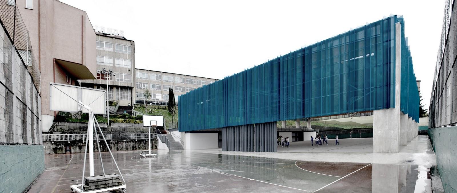 Garmendia arquitectos tcga pista polideportiva en - Arquitectos en zaragoza ...