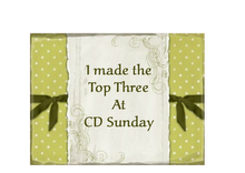 The Sunday CD Challenge made top 3 in 2011