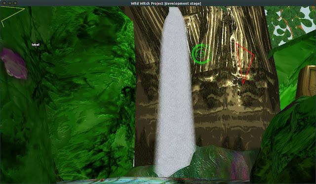 O trabalho da cachoeira