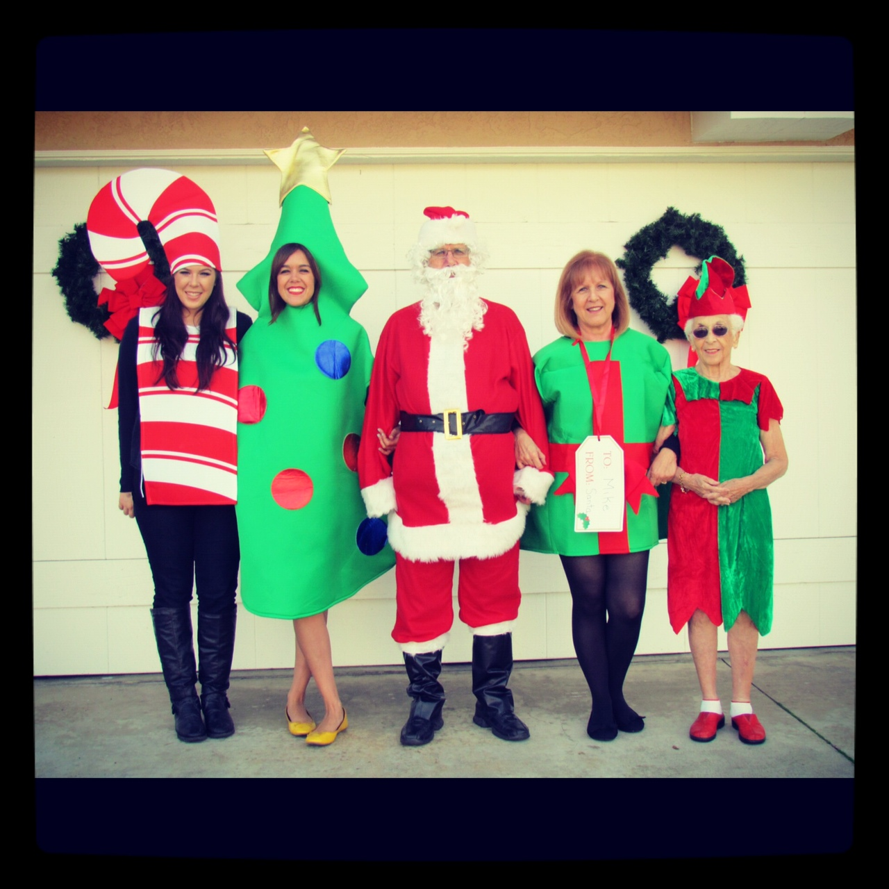 A Family Christmas Card Photo! - Apples and ABC\'s