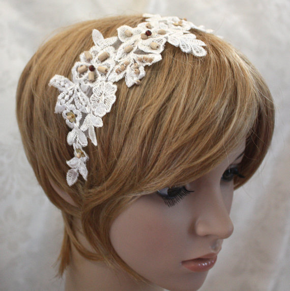 Retro Rack: New Acquisition ~ Lacy Evening Headband