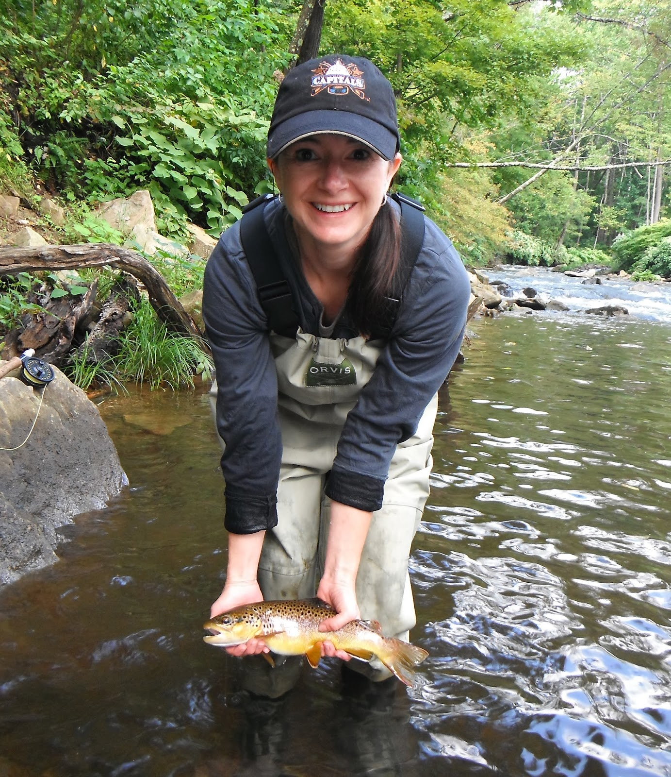 Western maryland fly fishing western maryland fishing for Md trout fishing