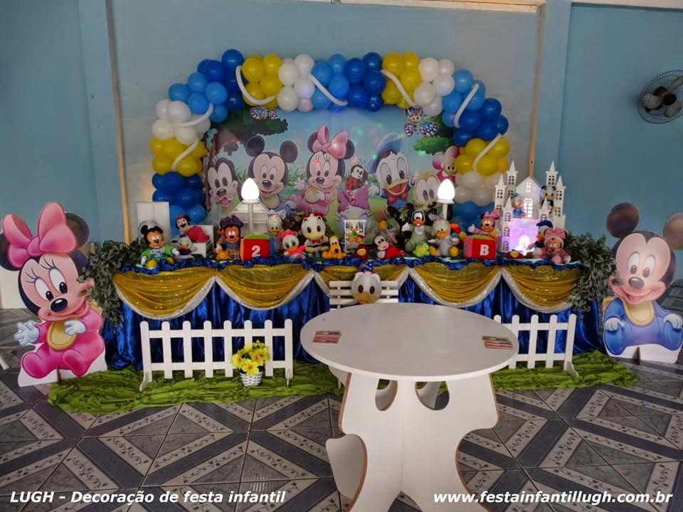 tema Baby disney para decoração de festa infantil