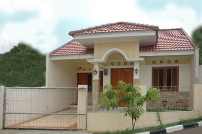 bumi cimanggis indah contoh rumah