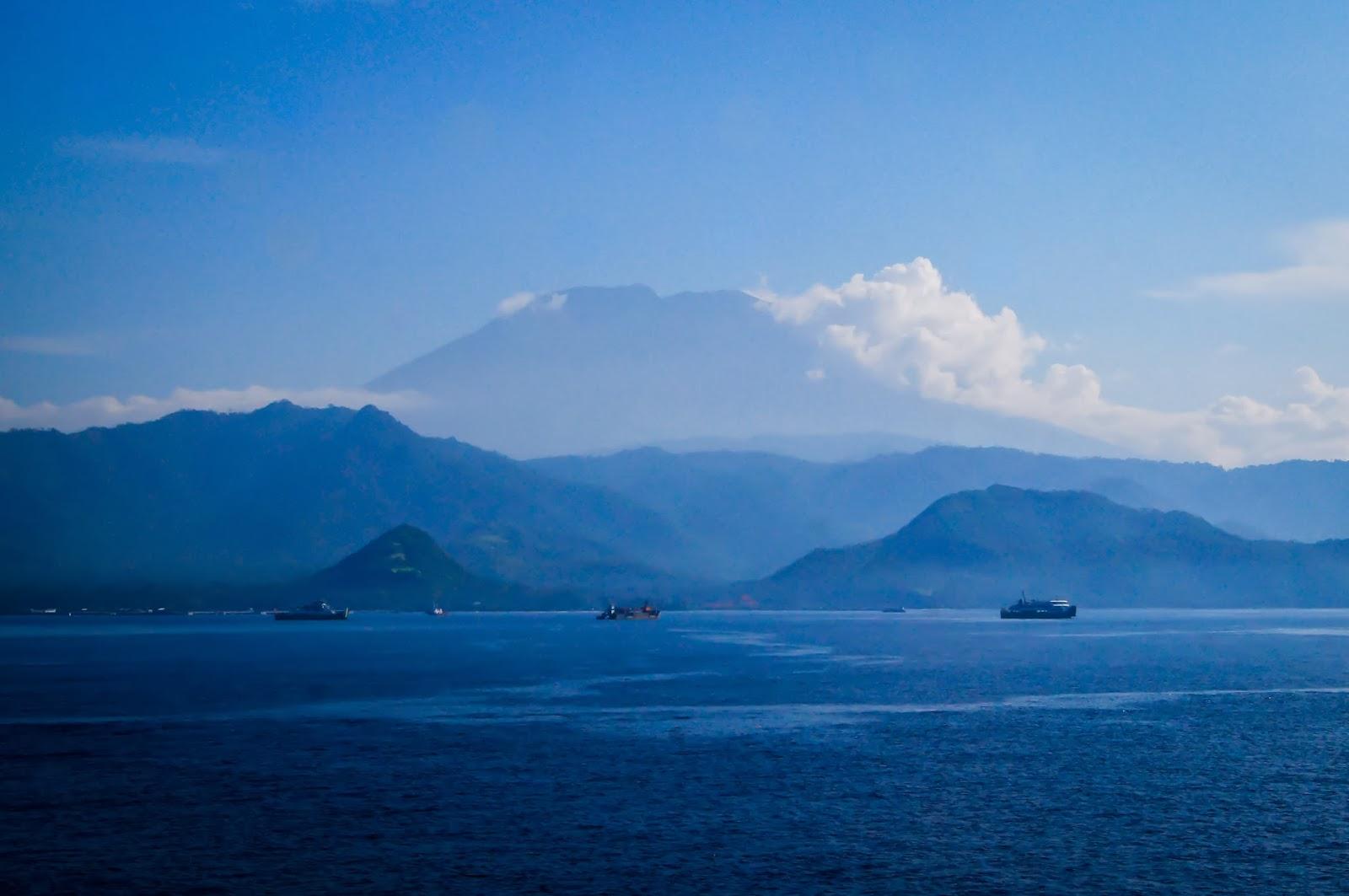 Vistas a la isla de Bali