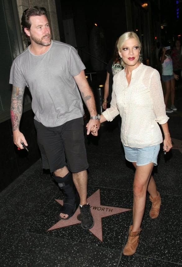 Tori Spelling, Dean McDermott, Dean McDermott cheating, Dean McDermott cheater, Tori Spelling bad actress