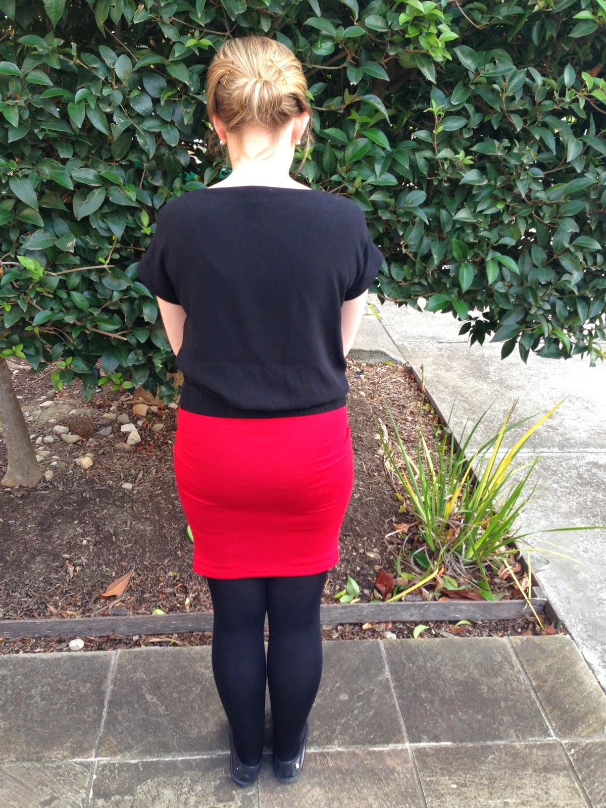 Teach me Fashion Draped Skirt