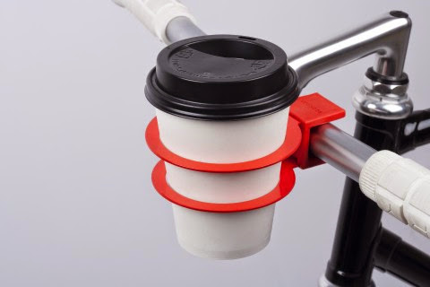Smart Gadgets For Coffee On The Go - Bookman Cup Holder