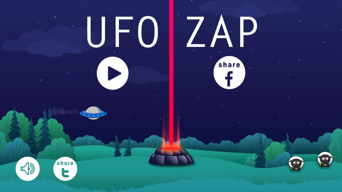 UFO ZAP game design