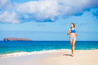 Los beneficios de correr en la playa