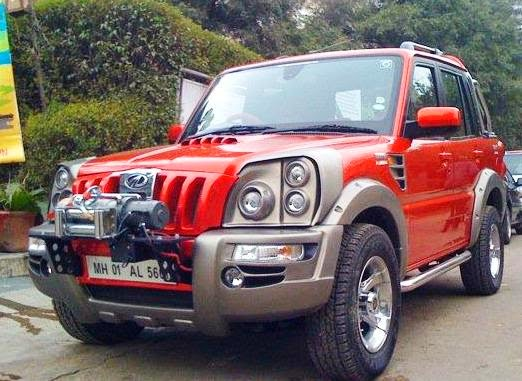 Mahindra Scorpio Black Modified Www Imgkid Com The